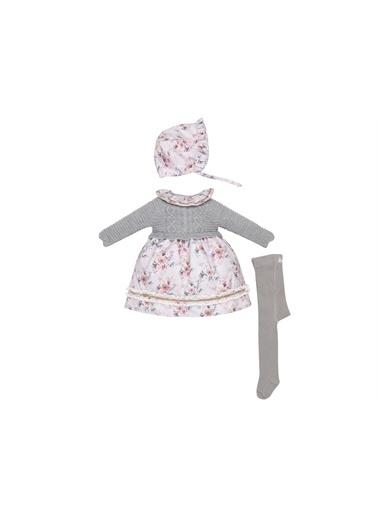 Babydolle Elbise Gri